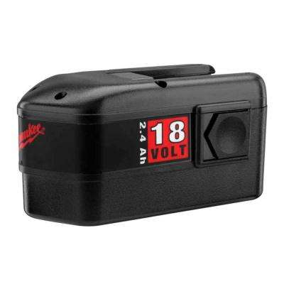 18-Volt NiCd Battery Pack 2.4Ah for Select Milwaukee Tools
