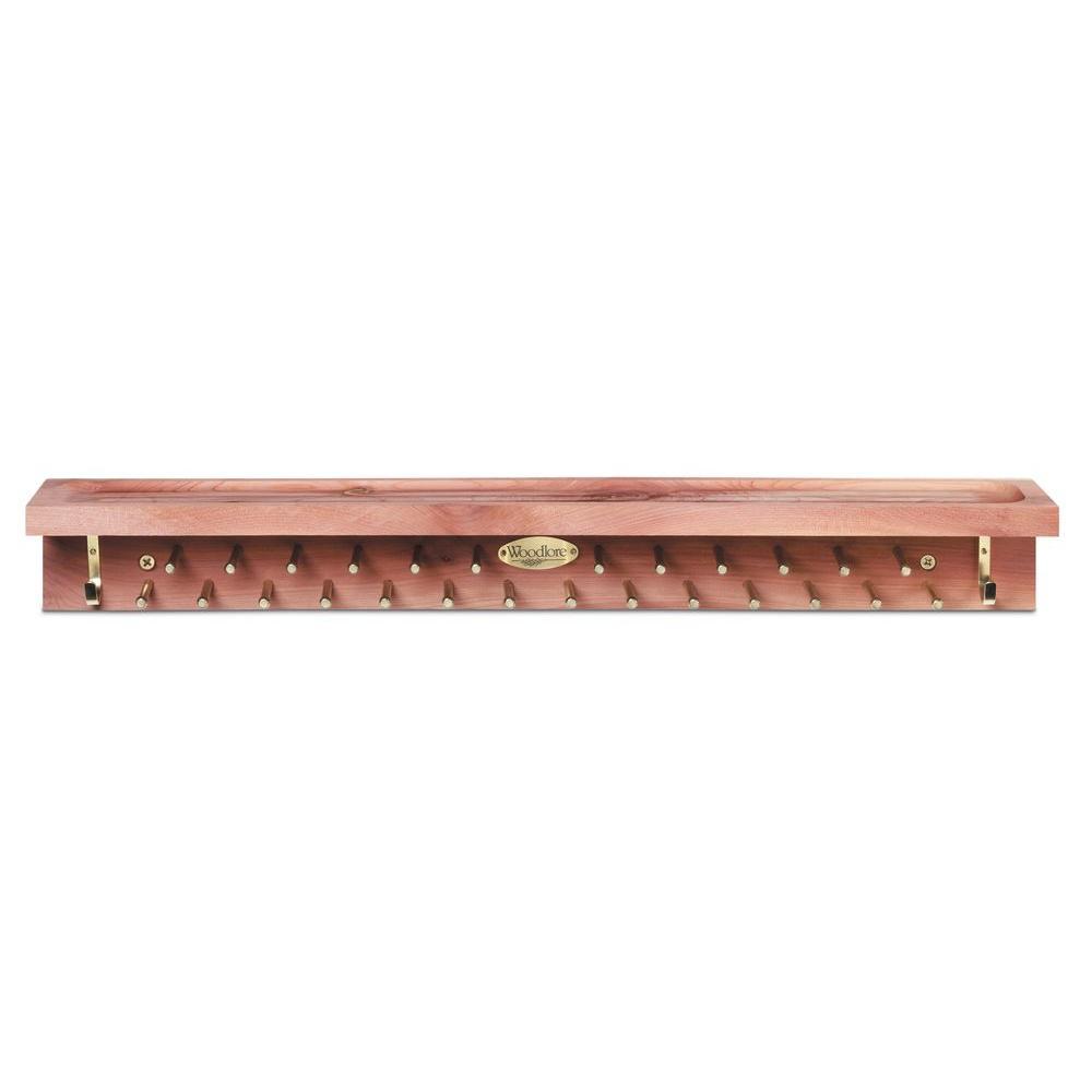 22-Tie and 4-Belt Aromatic Cedar Accessory Mate
