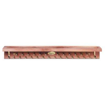 22-Tie and 4-Belt Aromatic Cedar Accessory Mate
