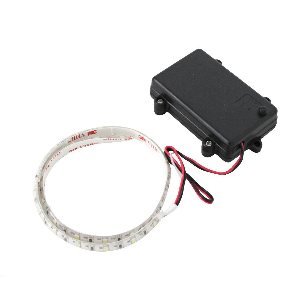 T H Marine Led Flex Light Strip Battery Operated In White