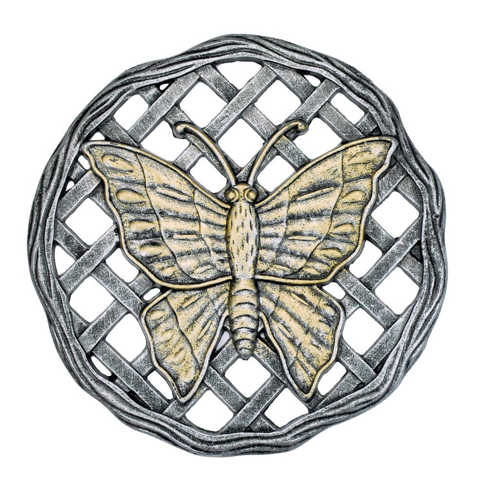 Cast Aluminum Stepping Stone Butterfly (6-Pack)