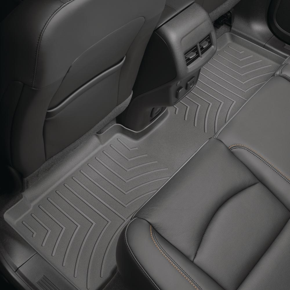 Weathertech Black Rear Floorliner Ford Expedition 2007 2017 Fits With 2nd Row Bucket Seats 4410402 The Home Depot