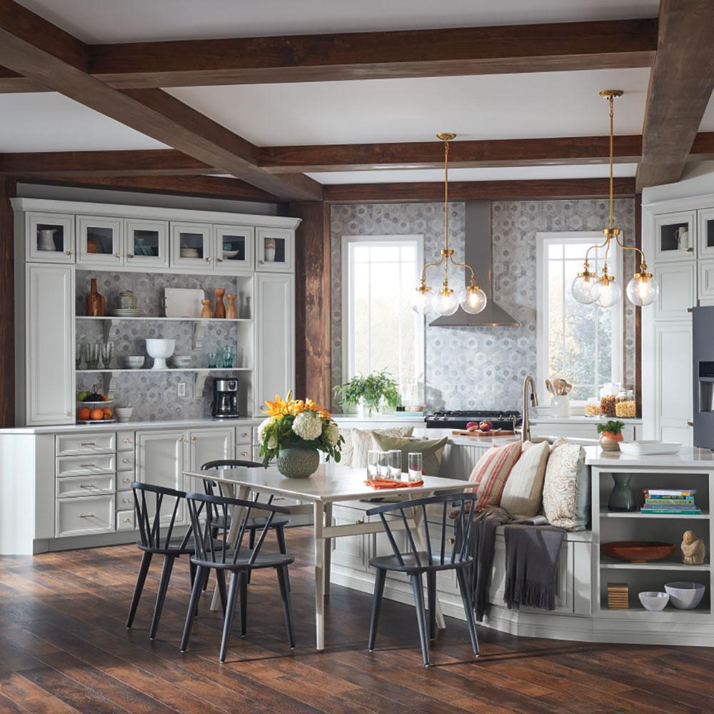 Free Online 3d Kitchen Design Tool: Thomasville Artisan Custom Kitchen Cabinets Shown In