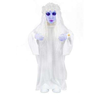 36 in. Animated Ghost Bride