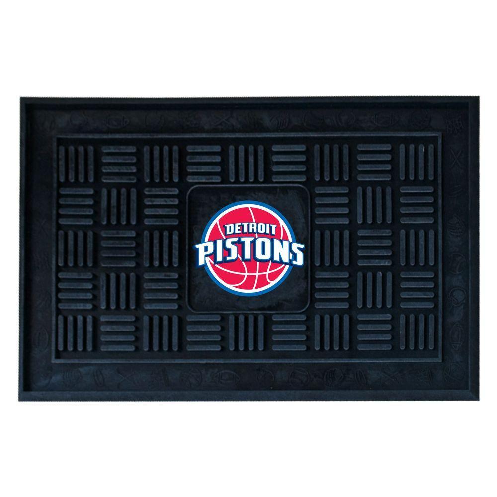 Detroit Pistons 18 in. x 30 in. Door Mat