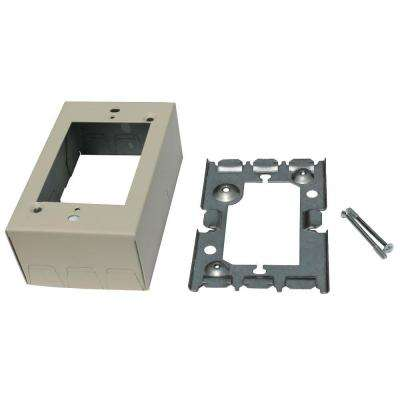 1-3/4 in. Extension Adapter Box - Ivory