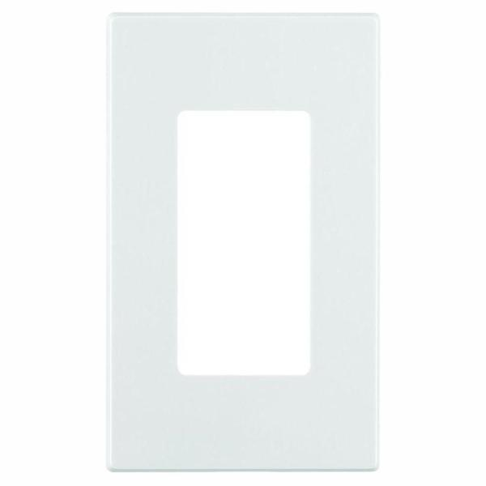 White 1-Gang Decorator/Rocker Wall Plate (15-Pack)