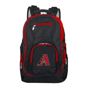 MLB Arizona Diamondbacks 19 in. Black Trim Color Laptop Backpack