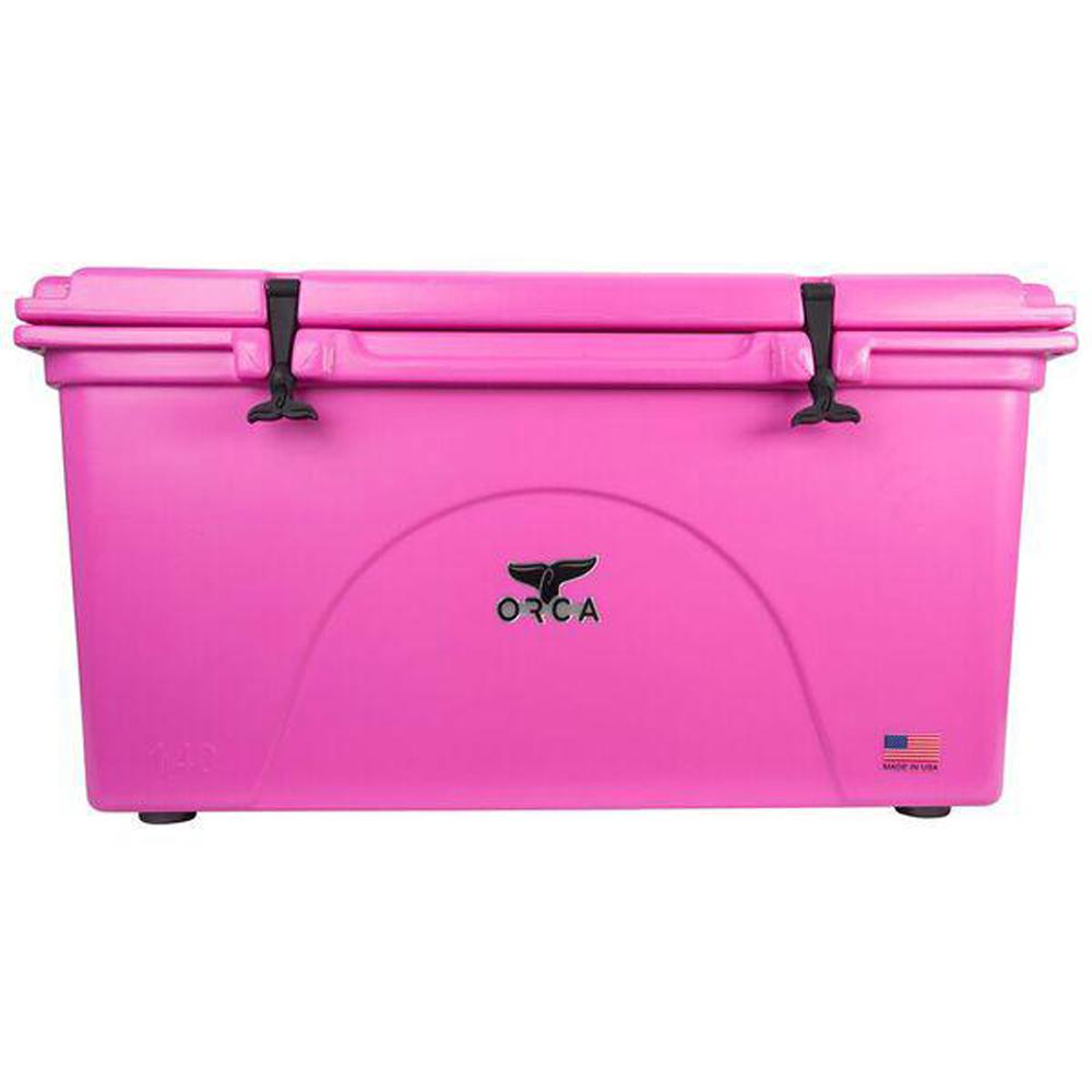 orca pink 140 qt coolerorcp140 the home depot