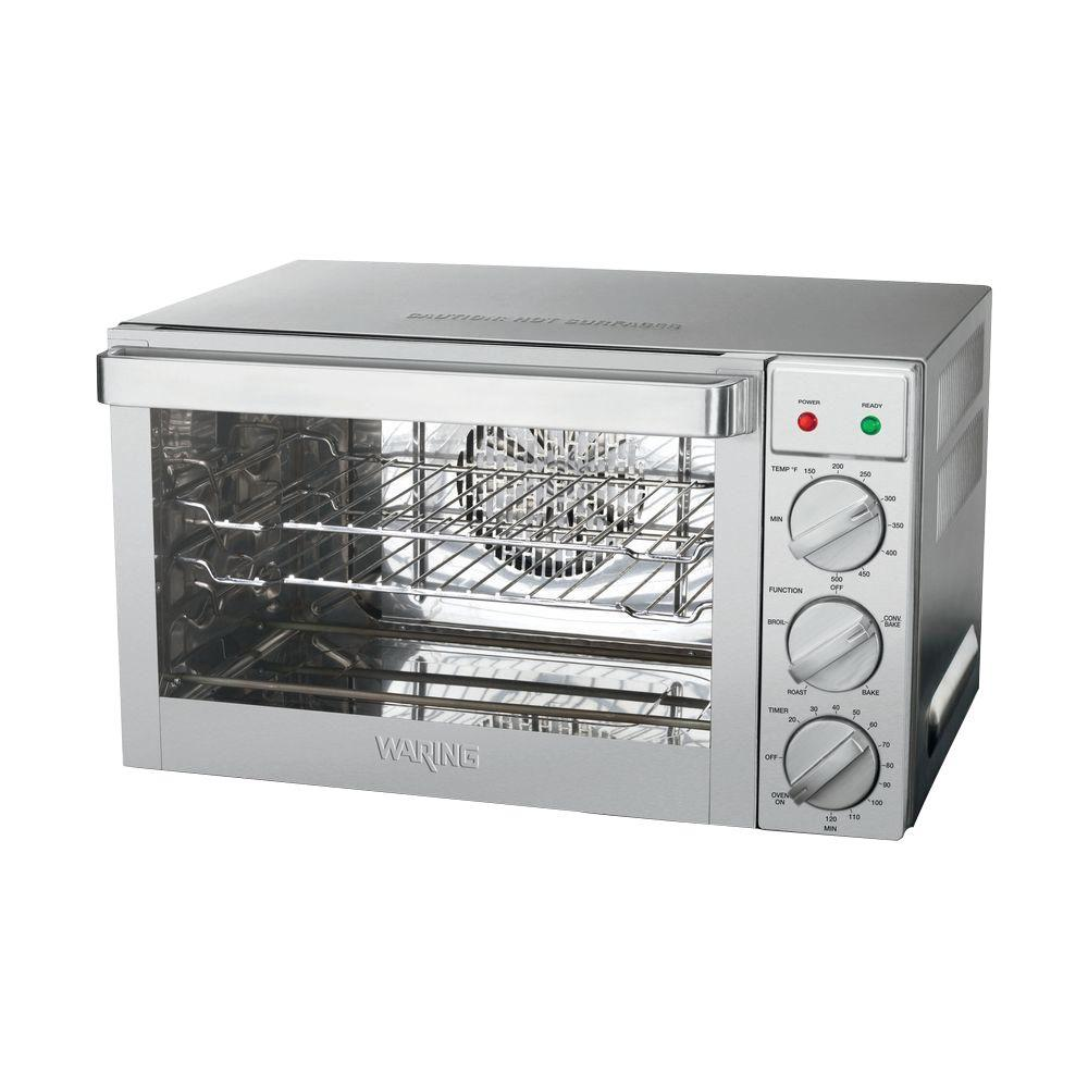 Waring Pro Silver Toaster Oven