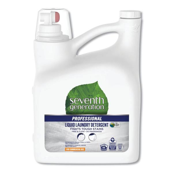 150 oz. Bottle Free and Clear Scent Liquid Laundry Detergent