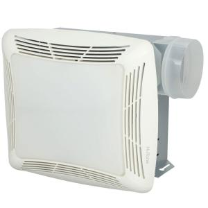 NuTone 70 CFM Ceiling Exhaust Fan with Light, White Grille and Bulb by NuTone