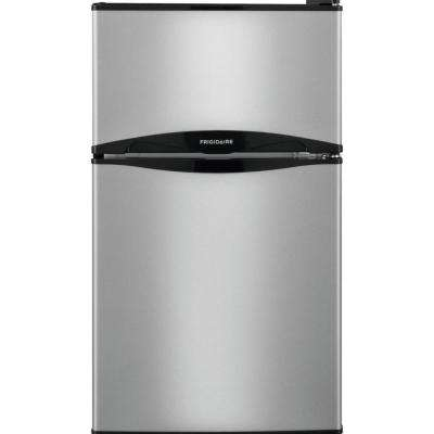 3.1 cu. ft. Mini Refrigerator in Silver Mist, ENERGY STAR