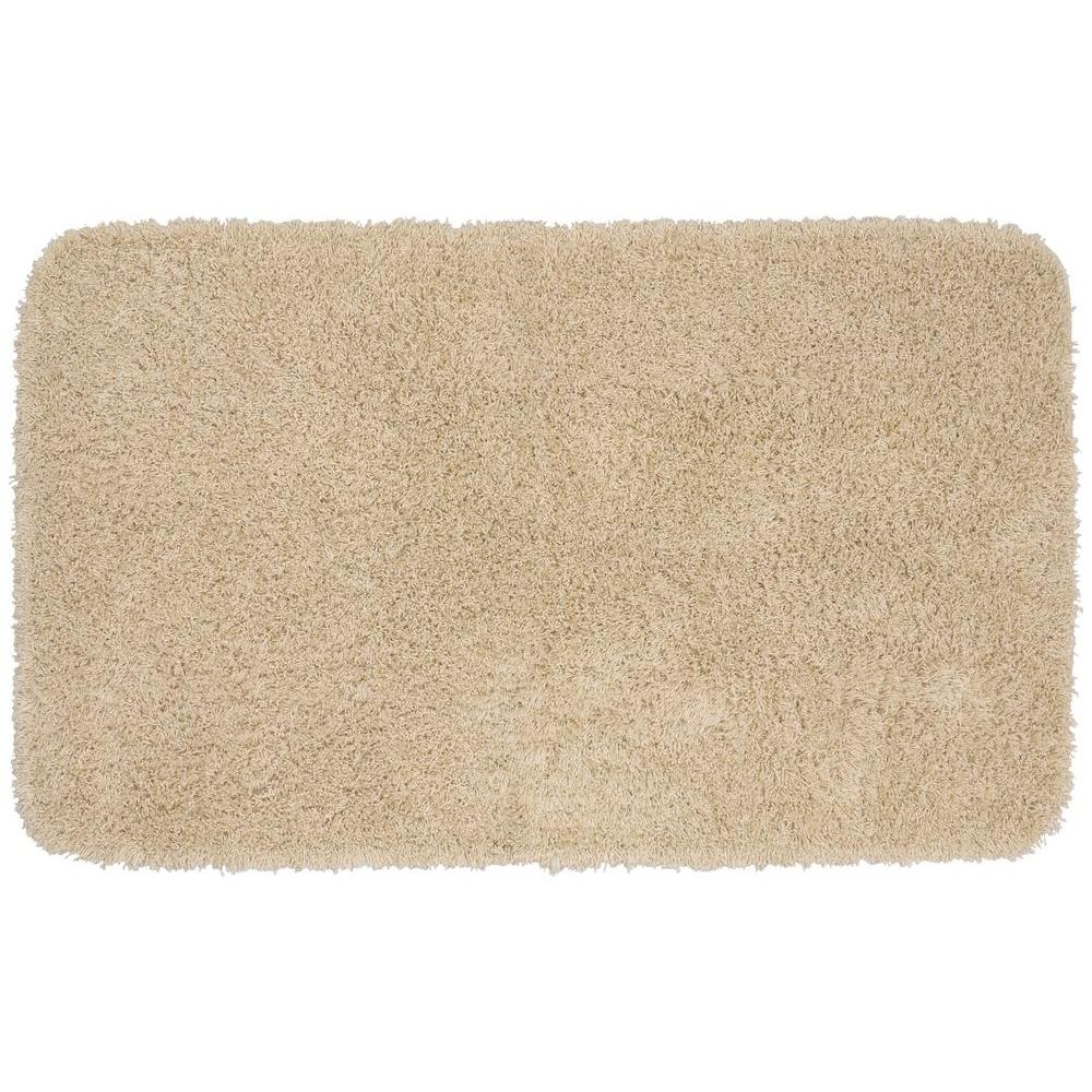 Garland Rug Jazz Linen 30 In X 50 In Washable Bathroom Accent Rug Ben 3050 05 The Home Depot