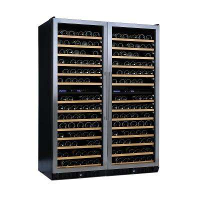 N'FINITY PRO Double LX 374-Bottle 52 in. Wine Cellar