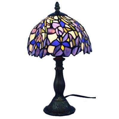 15 in. Tiffany Style Iris Table Lamp