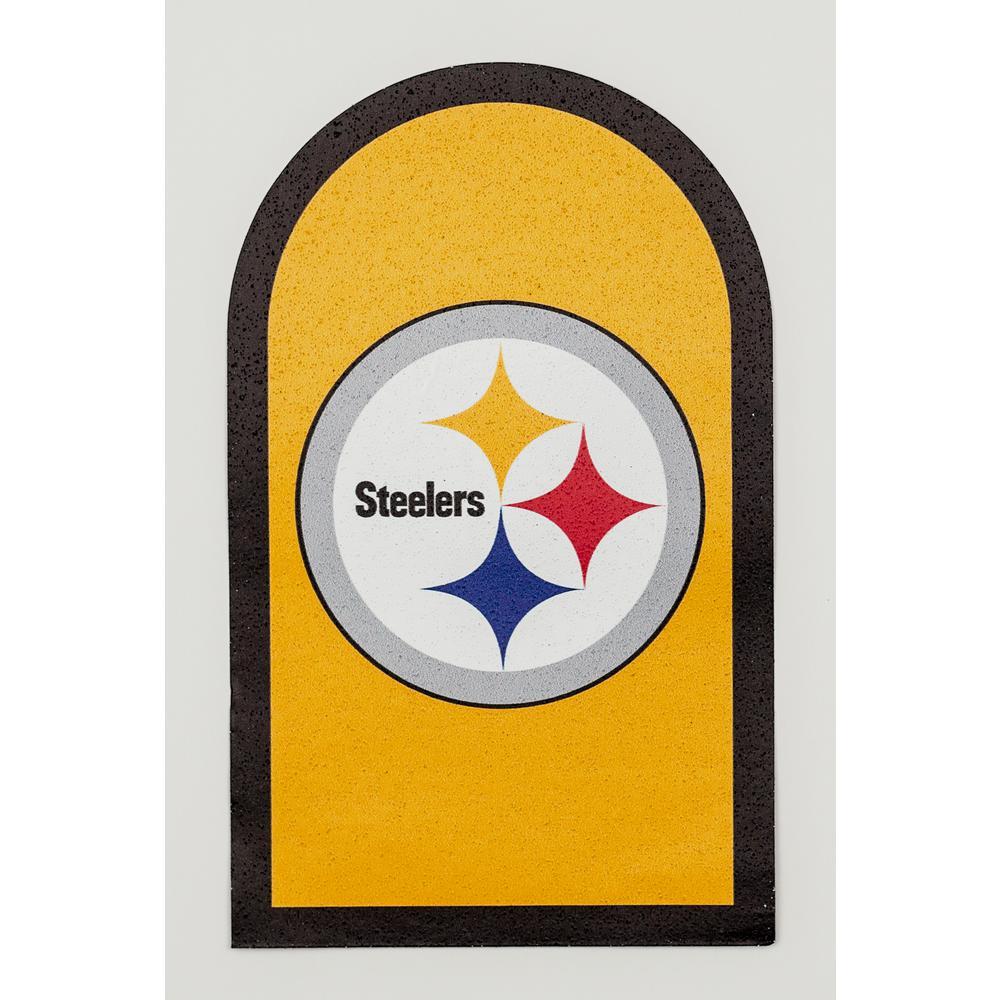 NFL Pittsburgh Steelers Mailbox Door Logo Graphic