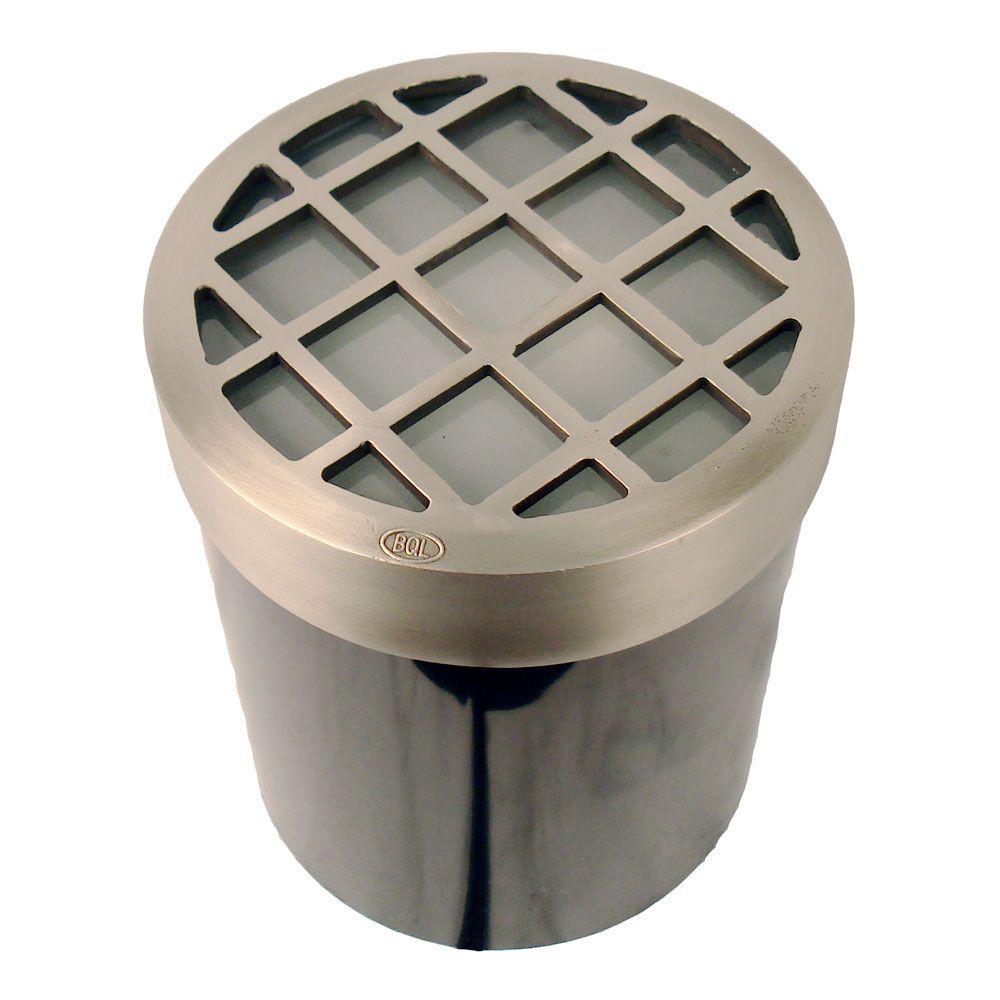 1-Light Stainless Steel Die Cast Brass Well Light