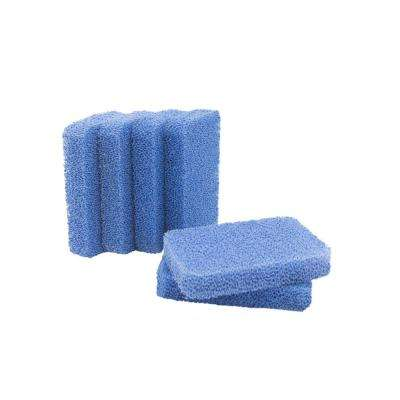 Breeze 4.8 in. Non-Scratch Odor Resistant Silicone Scrubbers (Pack of 6)