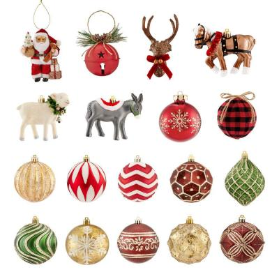 Shatterproof Ornament-Holly Bell (19-Count)