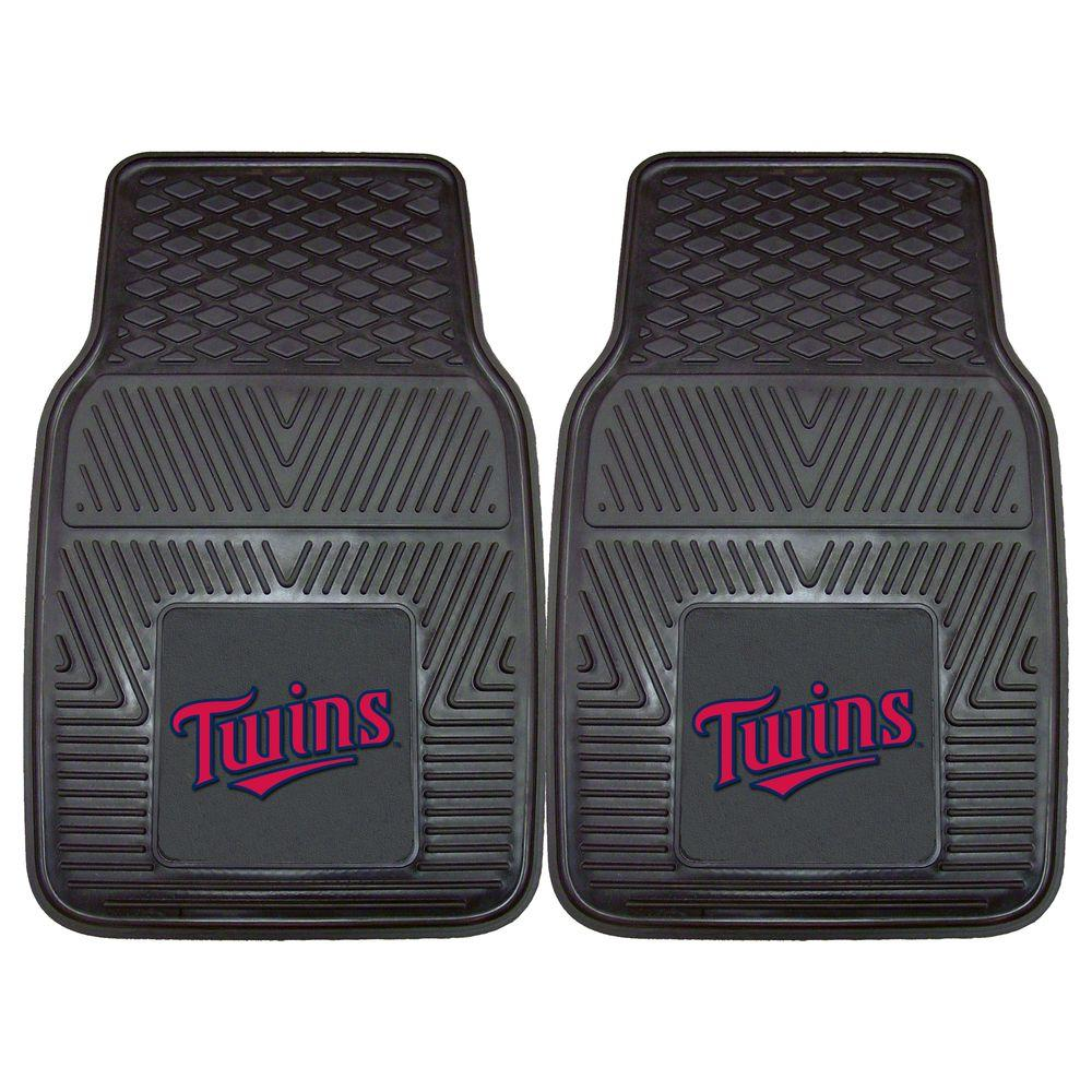 MLB - Minnesota Twins Black 18 in. x 27 in. 2-Piece