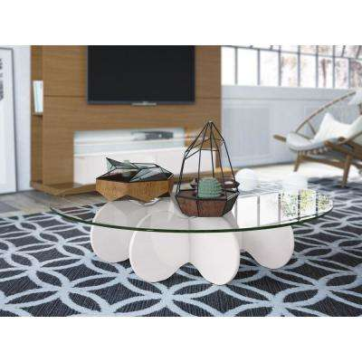 Waverly Off White Coffee Table