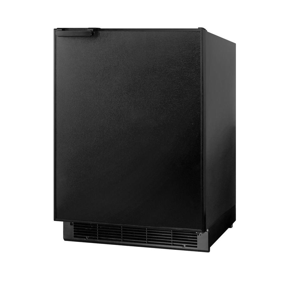 6 cu. ft. Mini Refrigerator in Black