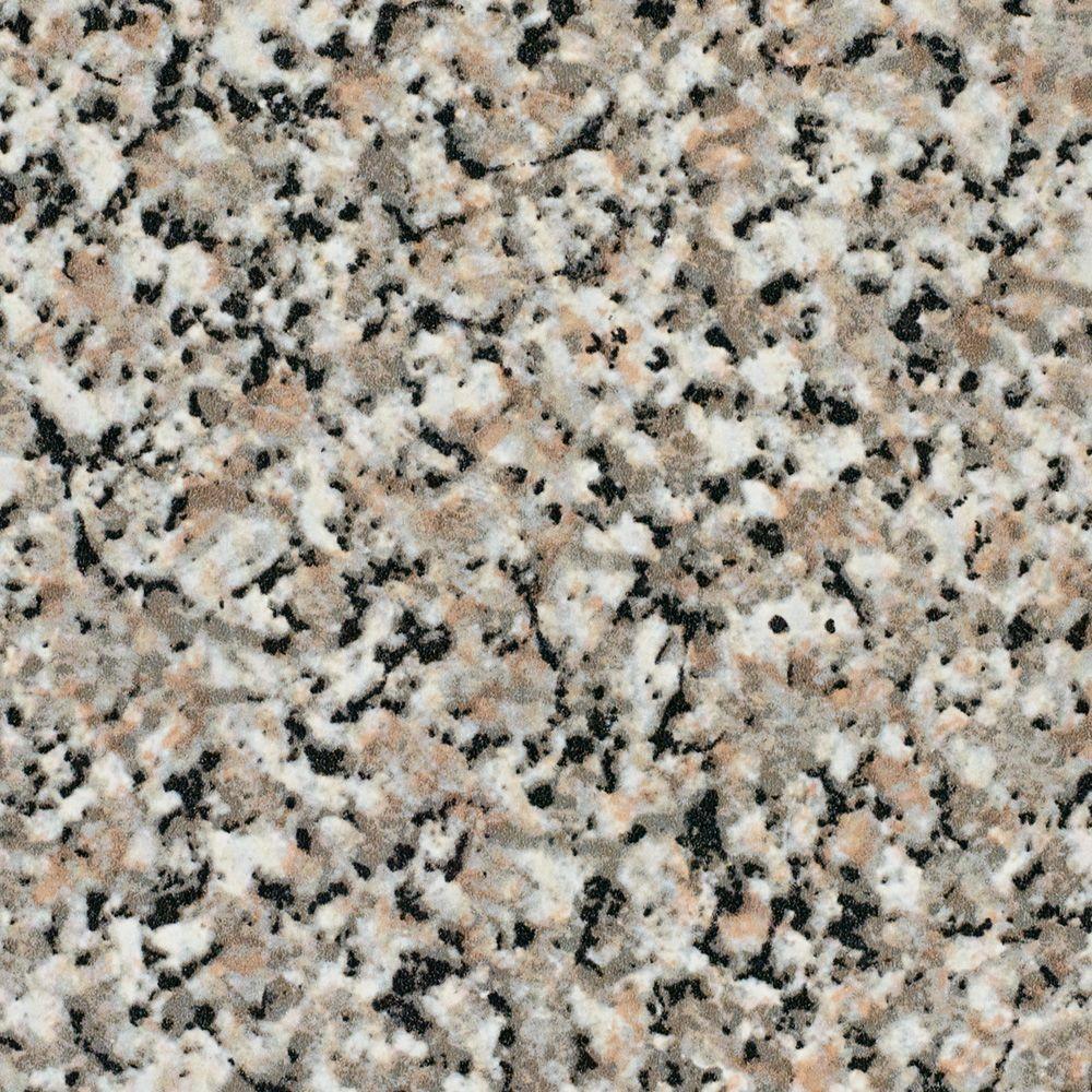 5 ft. x 12 ft. Laminate Sheet in Granite with Premium High Gloss