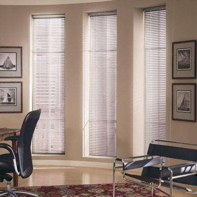 Mark 1 in. Aluminum Mini Blind