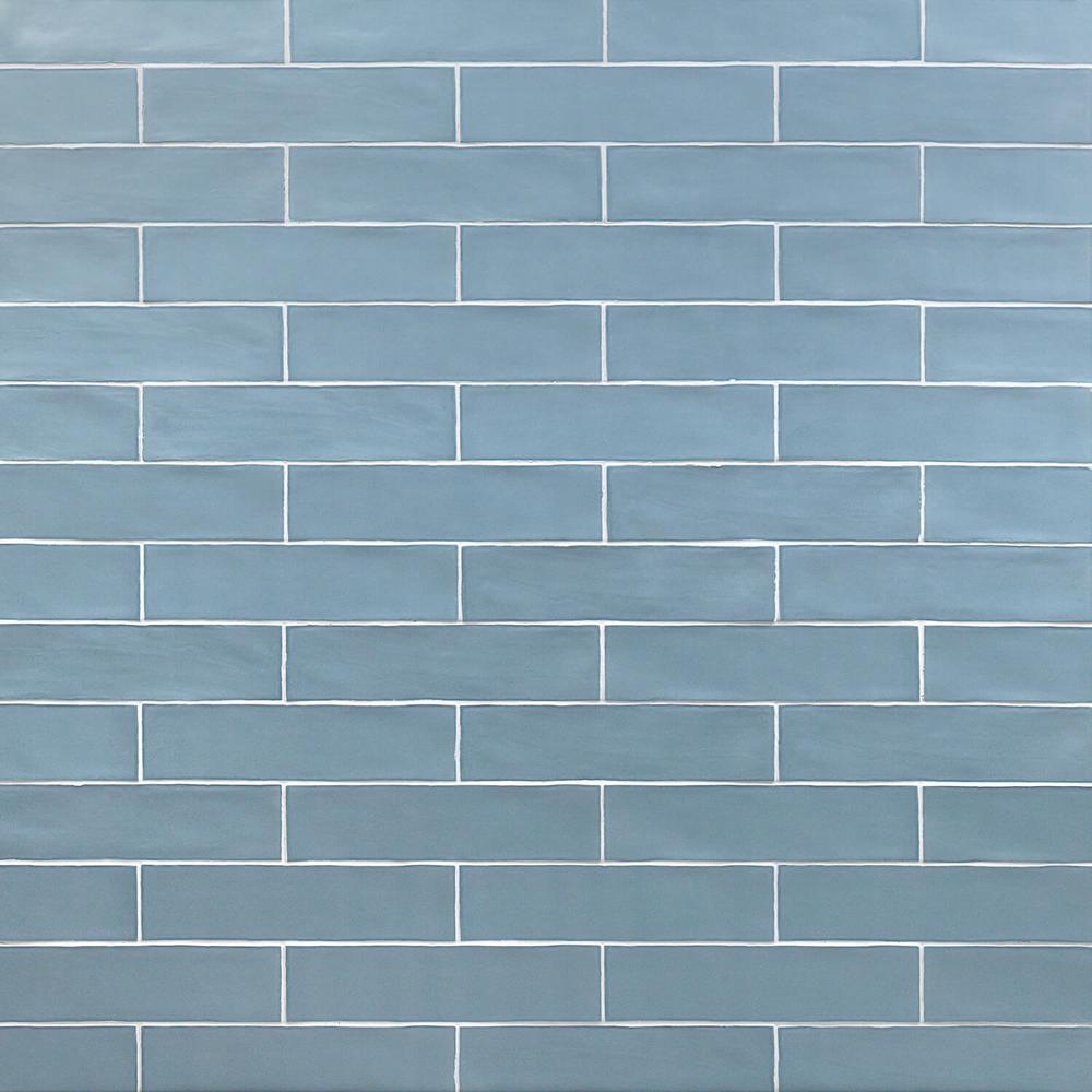 Blue Ceramic Tile Tile The Home Depot