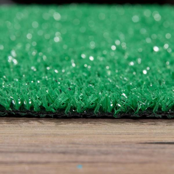 Multi-use Fake Pet Grass Indoor//Outdoor Rug Synthetic Lawn Carpet,Faux Grass Landscape for Patio,Garden,Astroturf for Dogs with Drain Holes Artificial Grass Thick Turf 1.38 Custom Sizes