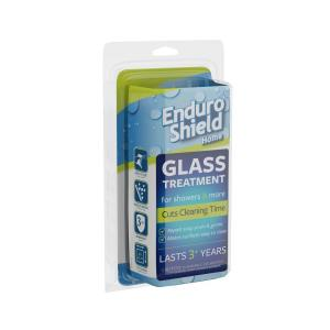 Glass Treatment Kit with 2 oz. Coating and 4.2 oz. Cleaner for Glass Showers