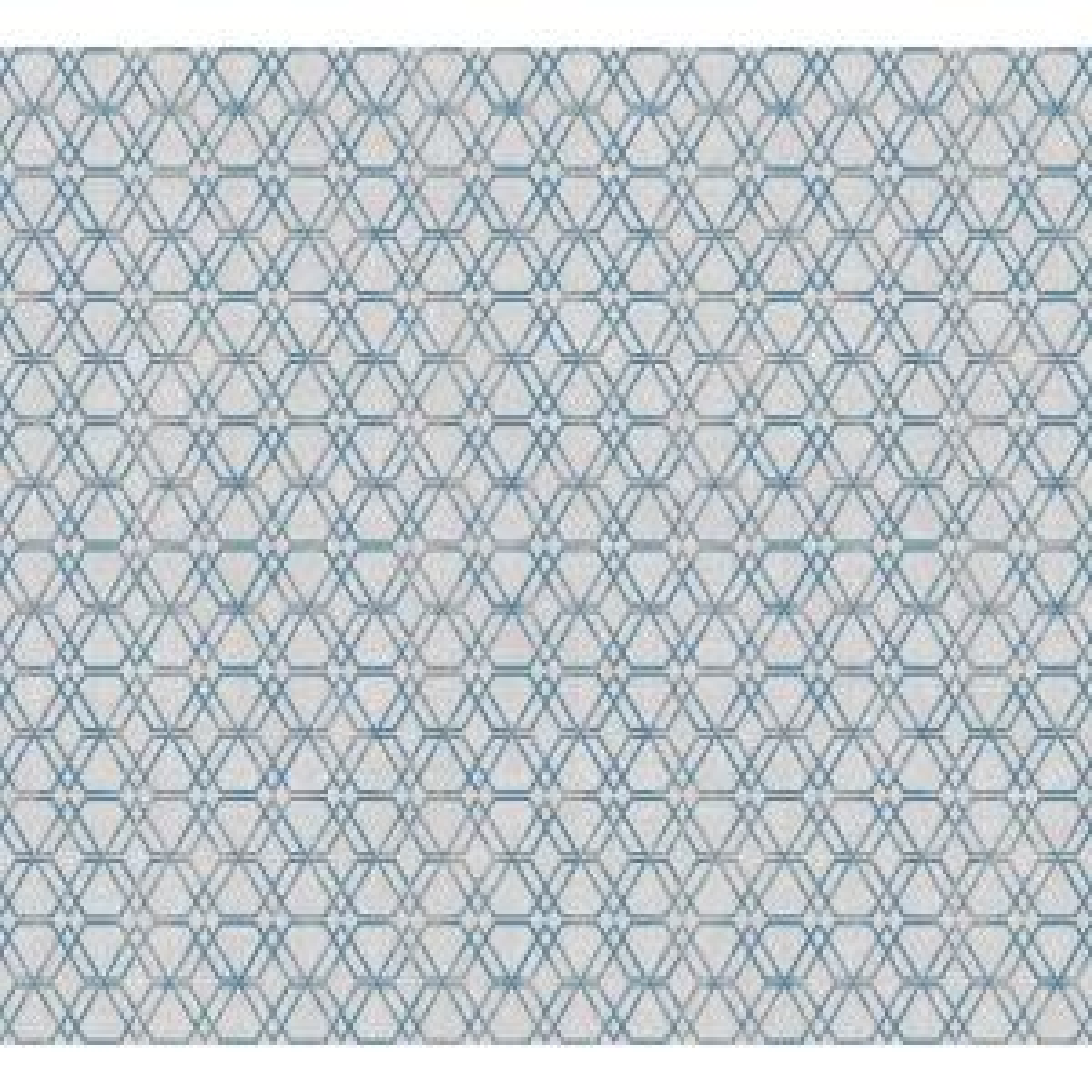 Esagono Grey Geometric Wallpaper Sample