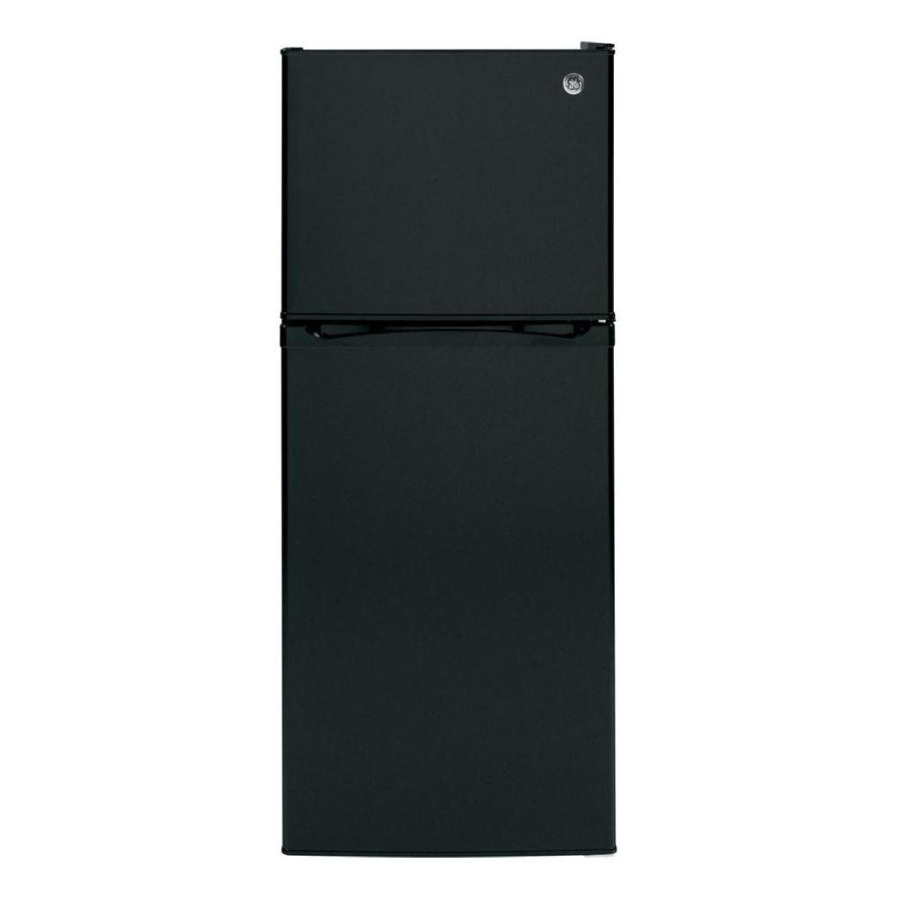 11.6 cu. ft. Freestanding Top Freezer Refrigerator in Black