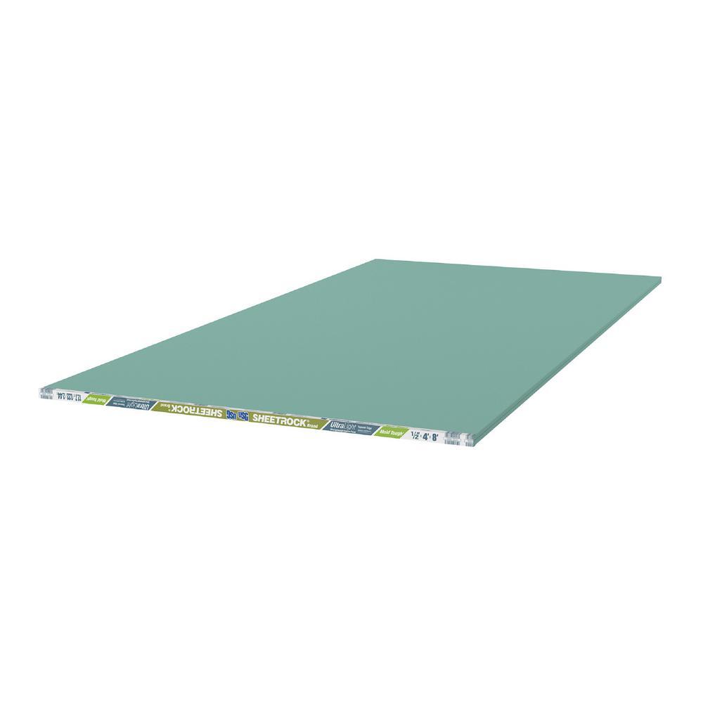USG Sheetrock Brand 1/2 in. x 4 ft. x 8 ft. UltraLight Mold Tough Drywall