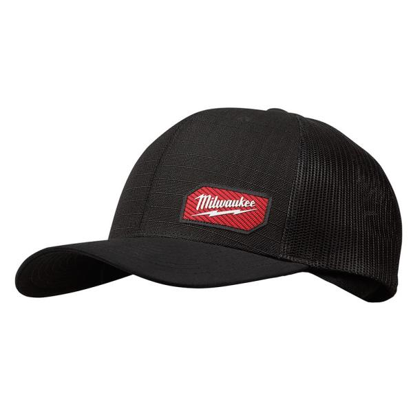Gridiron Black Adjustable Fit Trucker Hat