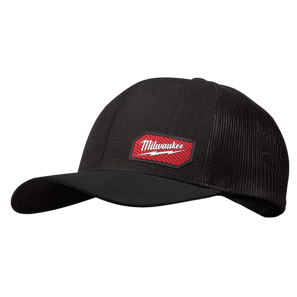 Gridiron Black Adjustable Fit Trucker Hat