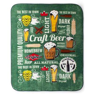 Luxury Beer Oversized Throw