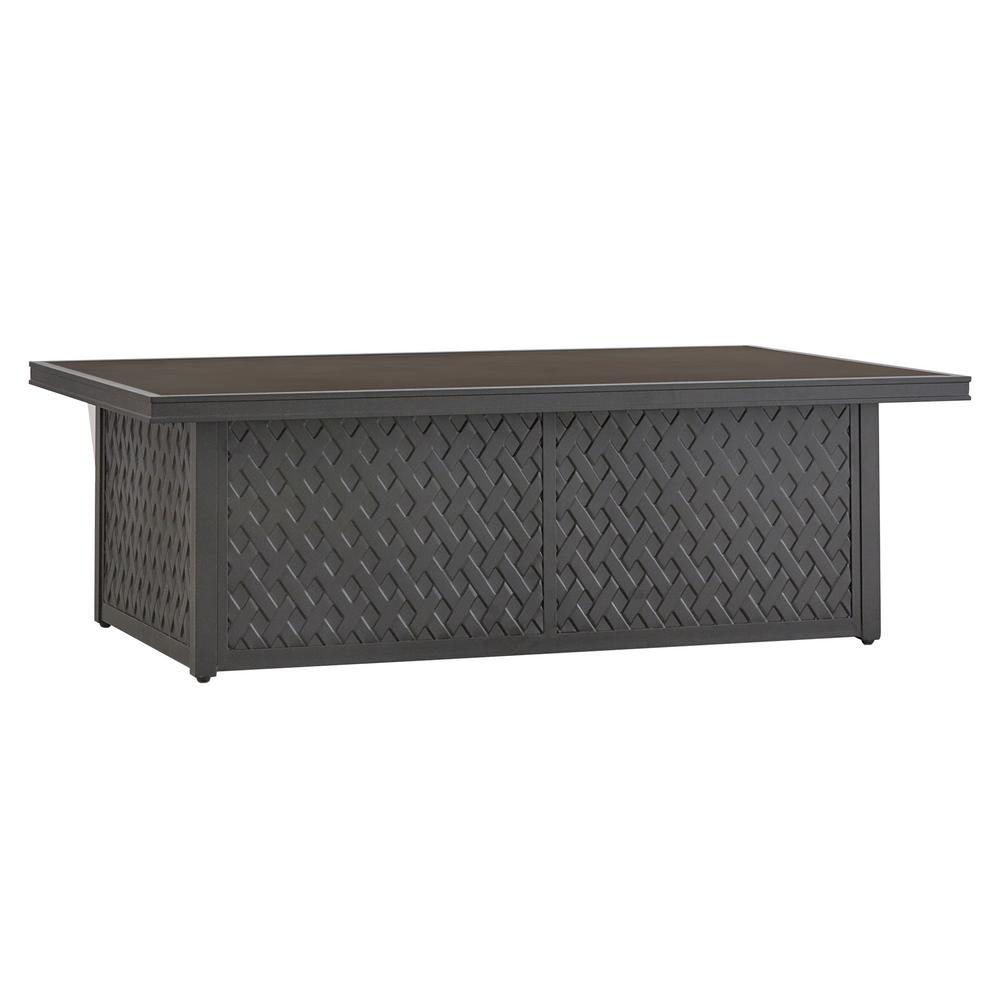 Homesullivan Aluminum Outdoor Cocktail Coffee Table