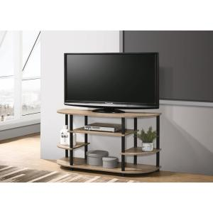 Chicopee 42 in. Sandstone Composite TV Stand Fits TVs Up to 43 in. with Open Storage