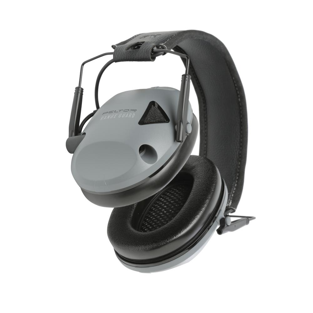 3M Peltor Sport RangeGuard Gray with Black Accents Earmuffs (Case of 4)