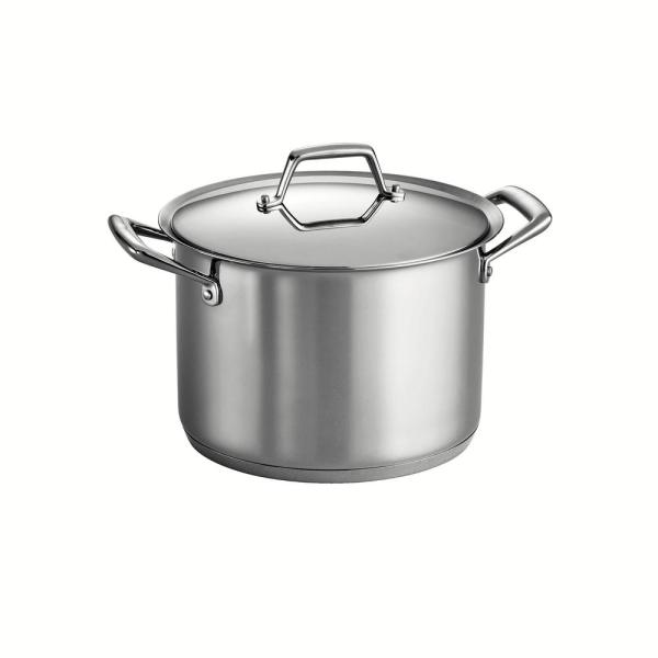 Tramontina Gourmet Prima 12 Qt. Stainless Steel Stock Pot with Lid