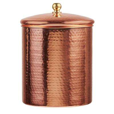 Alexandria 104 oz. Metal Canister with Copper