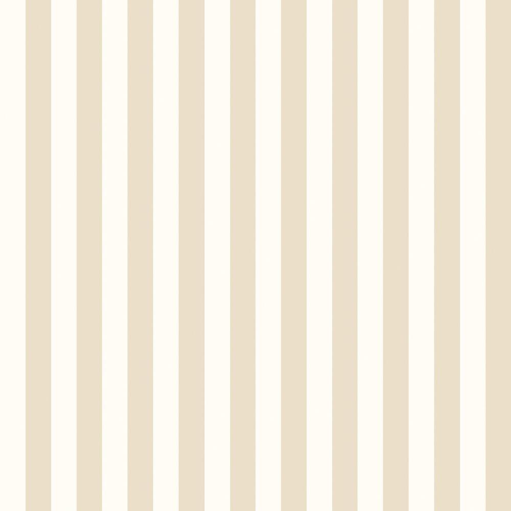 The Wallpaper Company 56 sq. ft. Earth Tone Slender Stripe Wallpaper