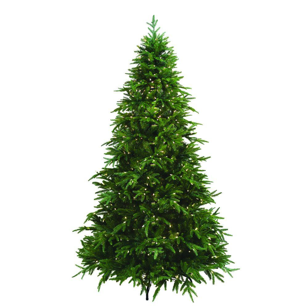 7.5 ft. Pre-Lit Ultima Artificial Christmas Tree with Clear and Multi-Colored