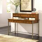 The Orleans Vintage Caramel Desk