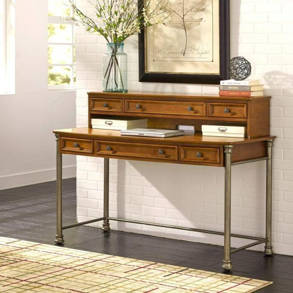 The Orleans Vintage Caramel Desk by Homestyles