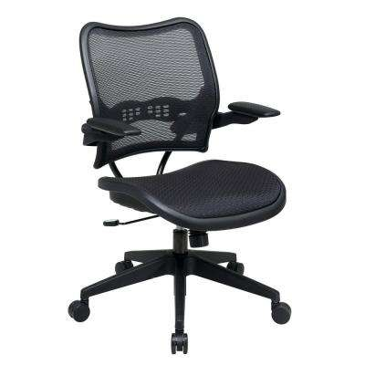 Deluxe Black AirGrid Office Chair