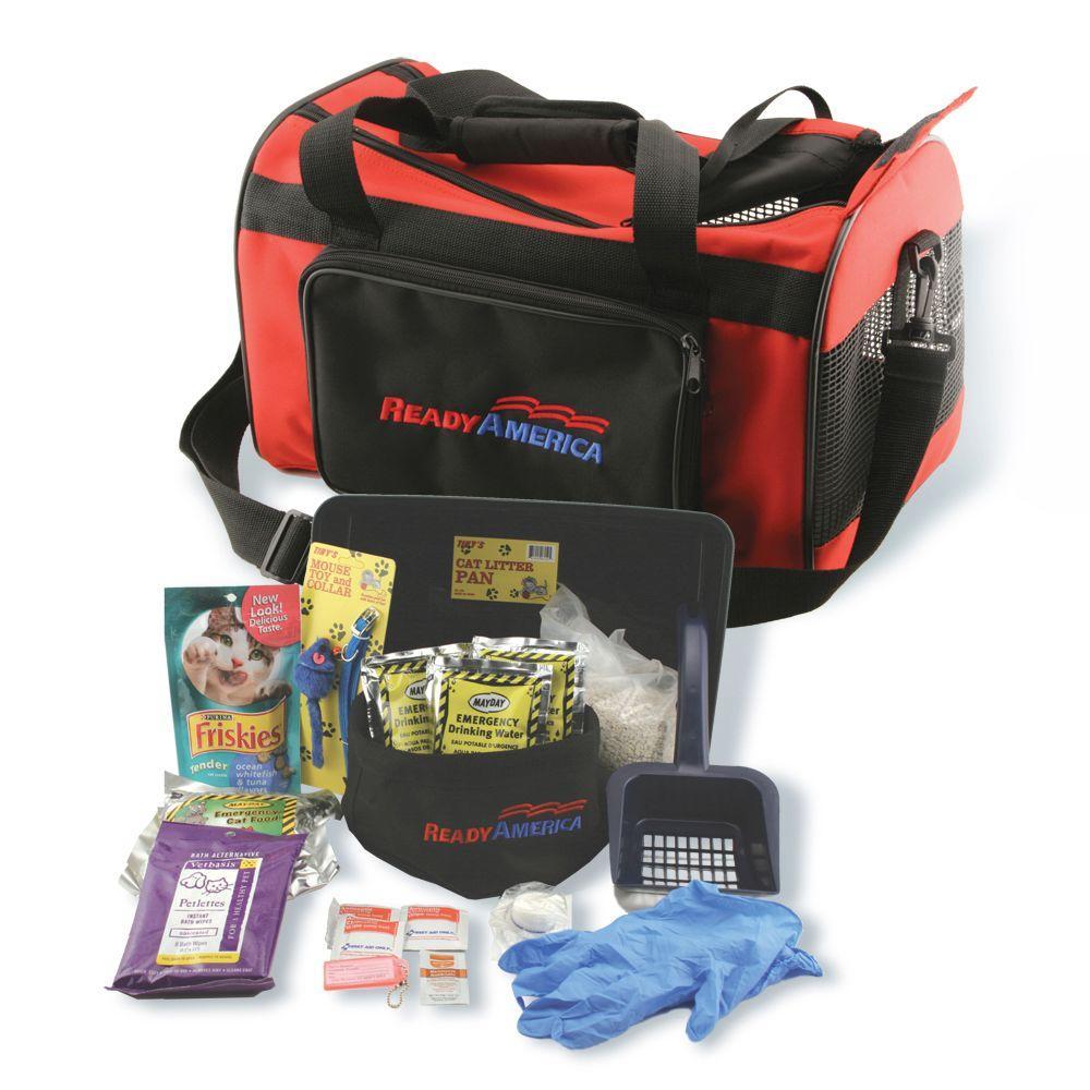 Ready America Cat Evacuation Kit