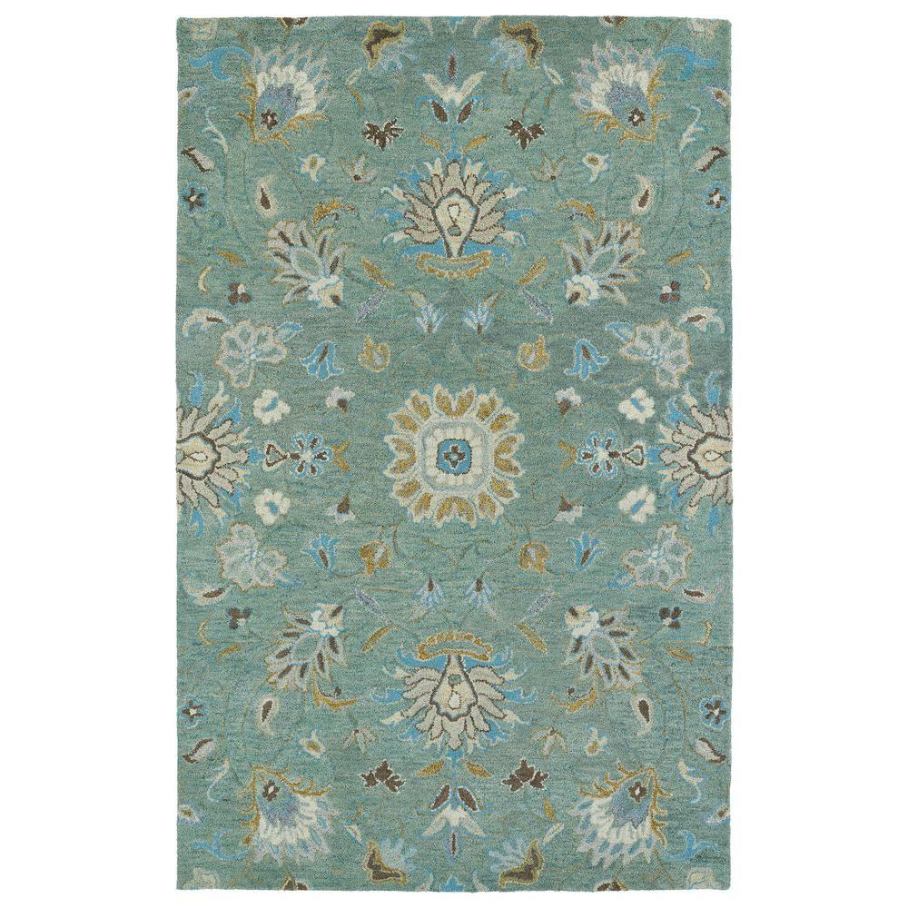 Kaleen Helena Mint 4 Ft X 6 Area Rug